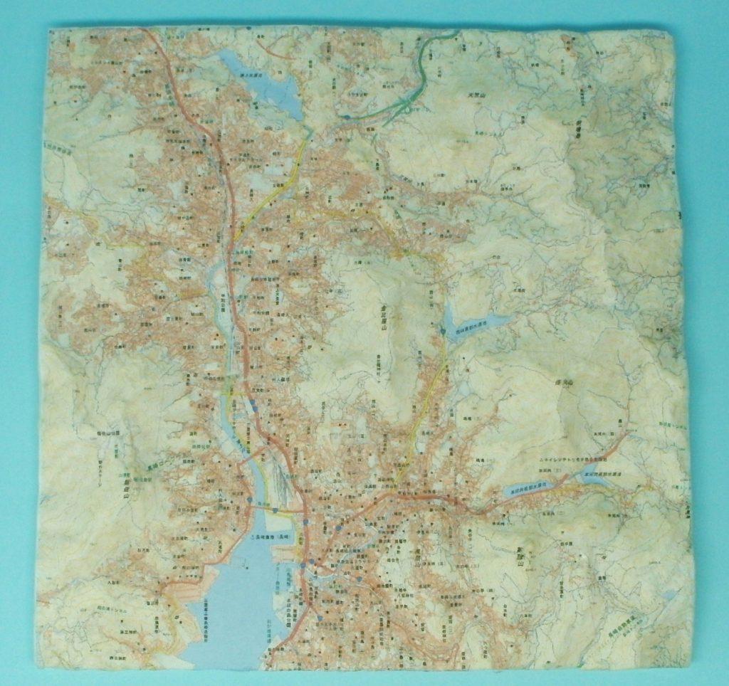 長崎市地形模型