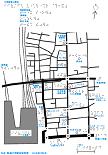 大宮駅東口周辺の触地図