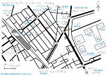 新所沢駅東口周辺の触地図