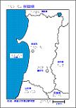 秋田県の触地図