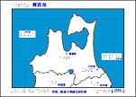 青森県の触地図