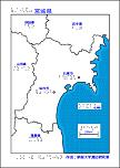 宮城県の触地図