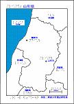 山形県の触地図
