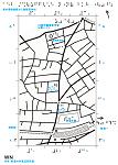 新井薬師駅から鼓稲荷神社までの触地図