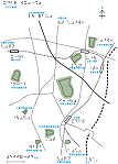 古市古墳群の触地図