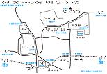京都府立聾学校周辺の触地図