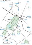 百舌鳥古墳群の触地図