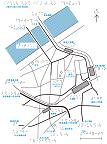 大阪市北区大淀の触地図