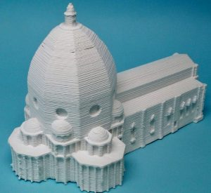 サンタ・マリア・デル・フィオーレ大聖堂の3D模型