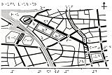 千葉県東口周辺の触地図