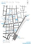 池袋駅西口周辺の触地図