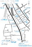 北品川駅周辺の触地図
