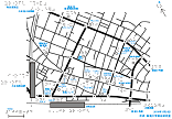 町田駅周辺の触地図
