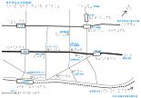 神戸市立点字図書館周辺の触地図