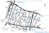 高田馬場駅早稲田口周辺の触地図