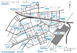 横浜駅西口の触地図