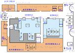 金沢駅1階案内図の触地図