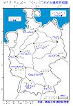 ドイツ連邦共和国の触地図
