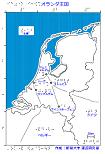 オランダ王国の触地図