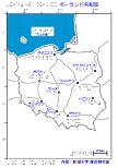 ポーランド共和国の触地図