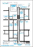 医療センター駅周辺の触地図