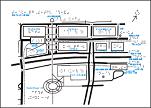 東京テレポート駅周辺の触地図