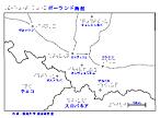 ポーランド南部の触地図