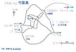 竹富島の触地図