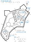 アートガーデン&タワーシティの触地図