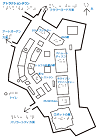 アトラクションタウンの触地図
