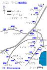 横浜周辺路線図