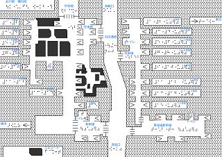 品川駅の触地図