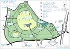 代々木公園の触地図