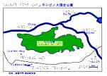 カンピノス公園の触地図
