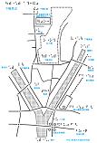 出町柳駅周辺の触地図