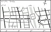 蘇我駅周辺の触地図